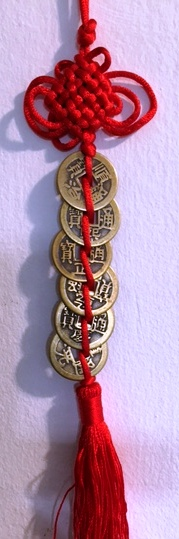 The Chinese Coin string is the cure for good health.